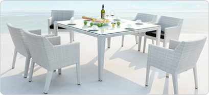 Rattan Tables And Chairs Rattan Dining Set Outdoor
