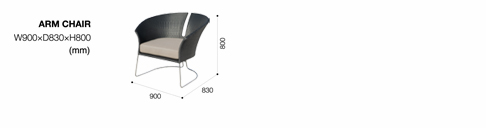 lily chair diagram