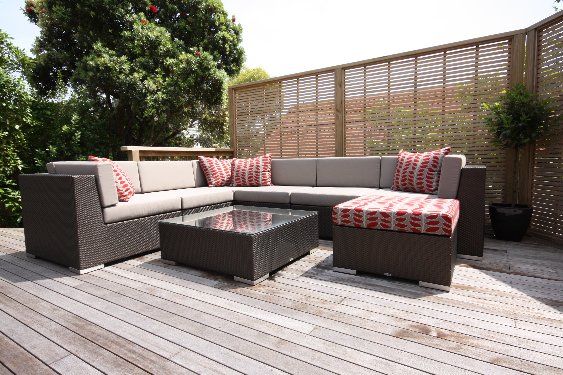 Show us your outdoor furniture for Bamboo furniture uk